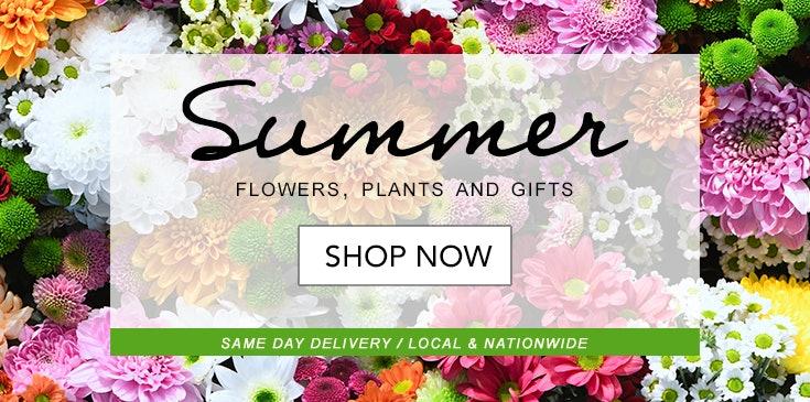 Shop Veldkamp's Flowers for the best selection of Summer themed floral arrangements in Denver, CO.