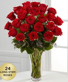 Choose 12 Roses,  18 Roses, 24 Roses or 36 Roses