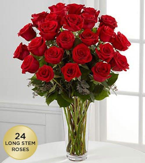 Premium Long Stem Roses - Red