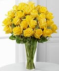 Premium Long Stem Roses - Yellow'