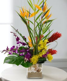 Mixed Tropical Flower Bouquet