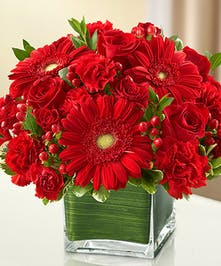 All Red Sympathy Bouquet