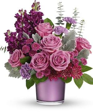 Modern Purple & Lavender Bouquet