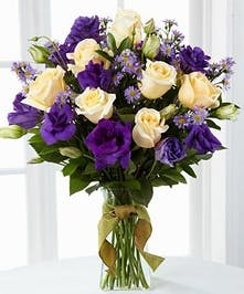 Lavender Roses, White Roses, Asters
