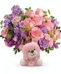 Beautiful Arrival Bear Bouquet