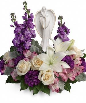 Lavender Funeral Flowers, Denver Florist