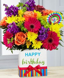 Birthday Brights Bouquet