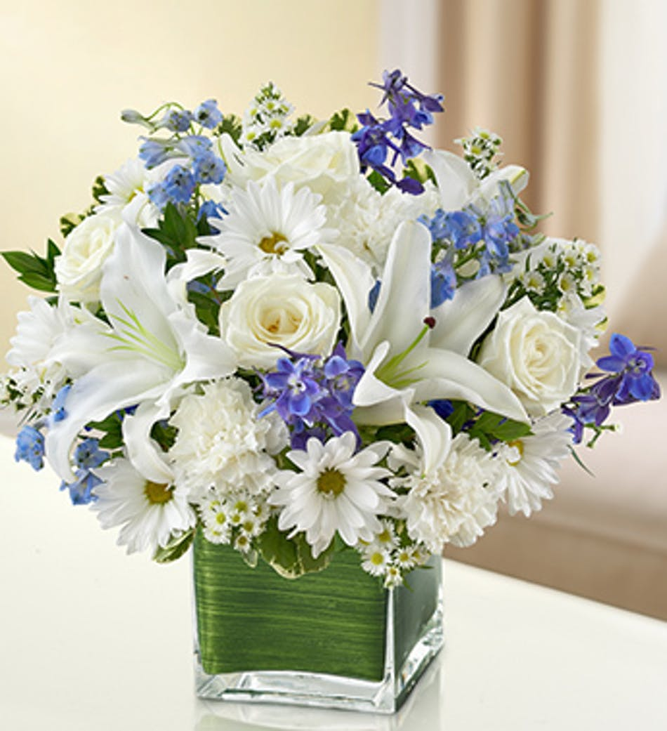 Healing Tears Bouquet: 1-800-Flowers Sympathy Collection ...