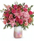 Blushing Gemstone Bouquet