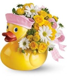Ducky Delight for Baby Girl