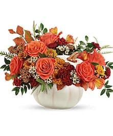 Elegant Pumpkin Arrangement