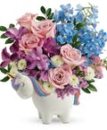 Enchanting Pastels Unicorn Bouquet