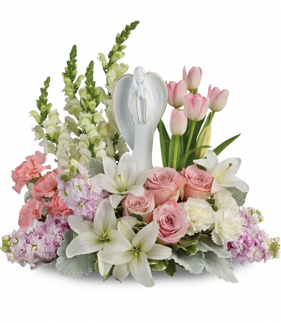 Garden of hope bouquet funeral flowers denver veldkamps flowers funeral flowers denver florist izmirmasajfo