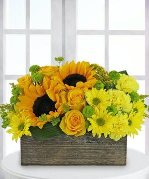 Modern Yellow Bouuqet