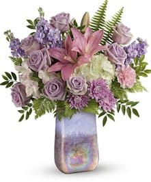 Lavender Mixed Floral Bouquet