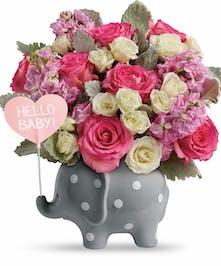 Pink Baby Girl Arrangement