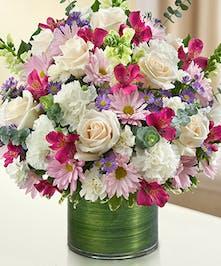 Lavender & White Sympathy Bouquet