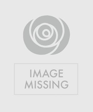Lavender & White Mixed Flower Standing Sympathy Wreath