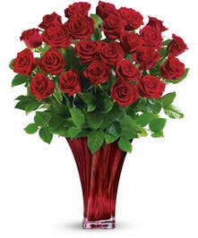 Exquisite Red Rose Valentine Bouquet