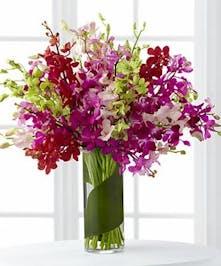 Luminous Luxury Orchid Bouquet
