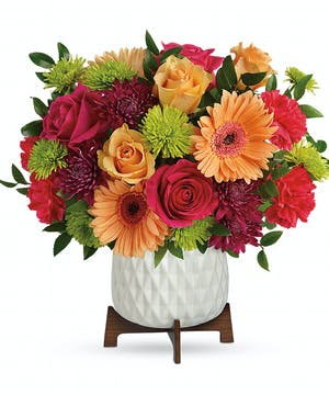 Mixed Bright Colored Modern Bouquet