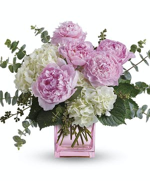 Peony & Hydrangea Bouquet