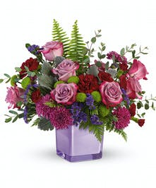 Serene Purple Bouquet