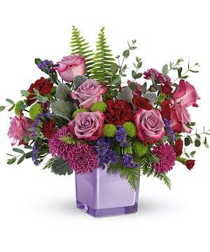 Serene Purple Bouquet