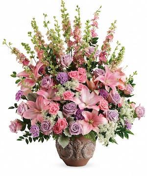 Lavender & Pink Sympathy Bouquet