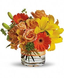 Orange and Yellow Summer Bouquet