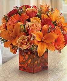 Warm Fall Floral Bouquet