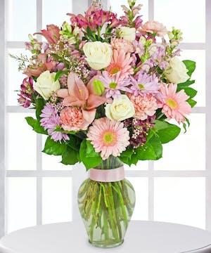 Pastel Spring Floral Bouquet