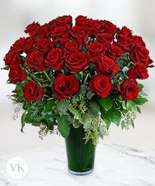 Three Dozen Stunning Roses