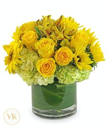 Yellow Floral Bouquet