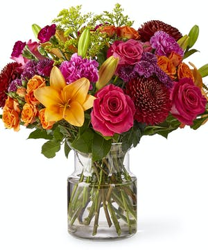 Bright Fall Bouquet